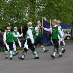 green man morris dancers