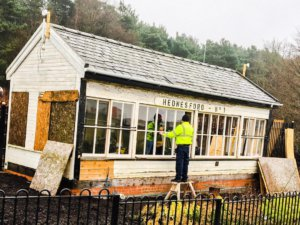 The Friends of Hednesford Park - Signal Box Restoration Project
