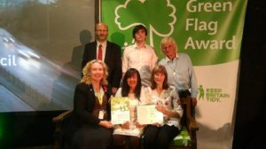 Hednesford Park Wins Green Flag Award