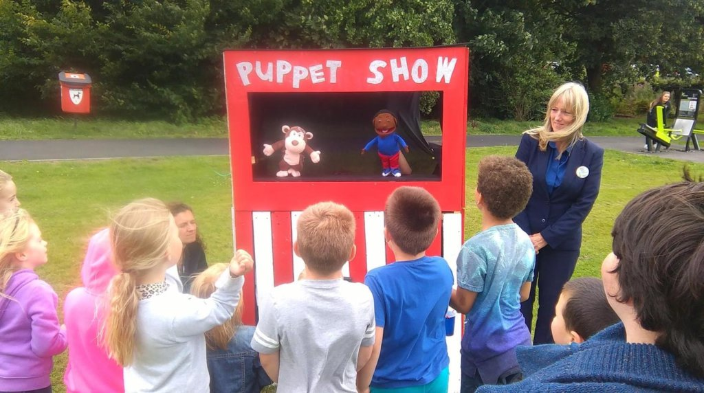 Puppet Show & Workshop Hednesford Park