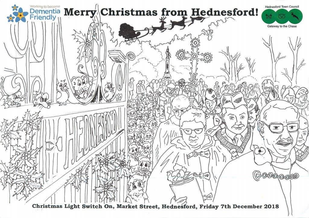Hednesford Town Christmas Colouring Competition